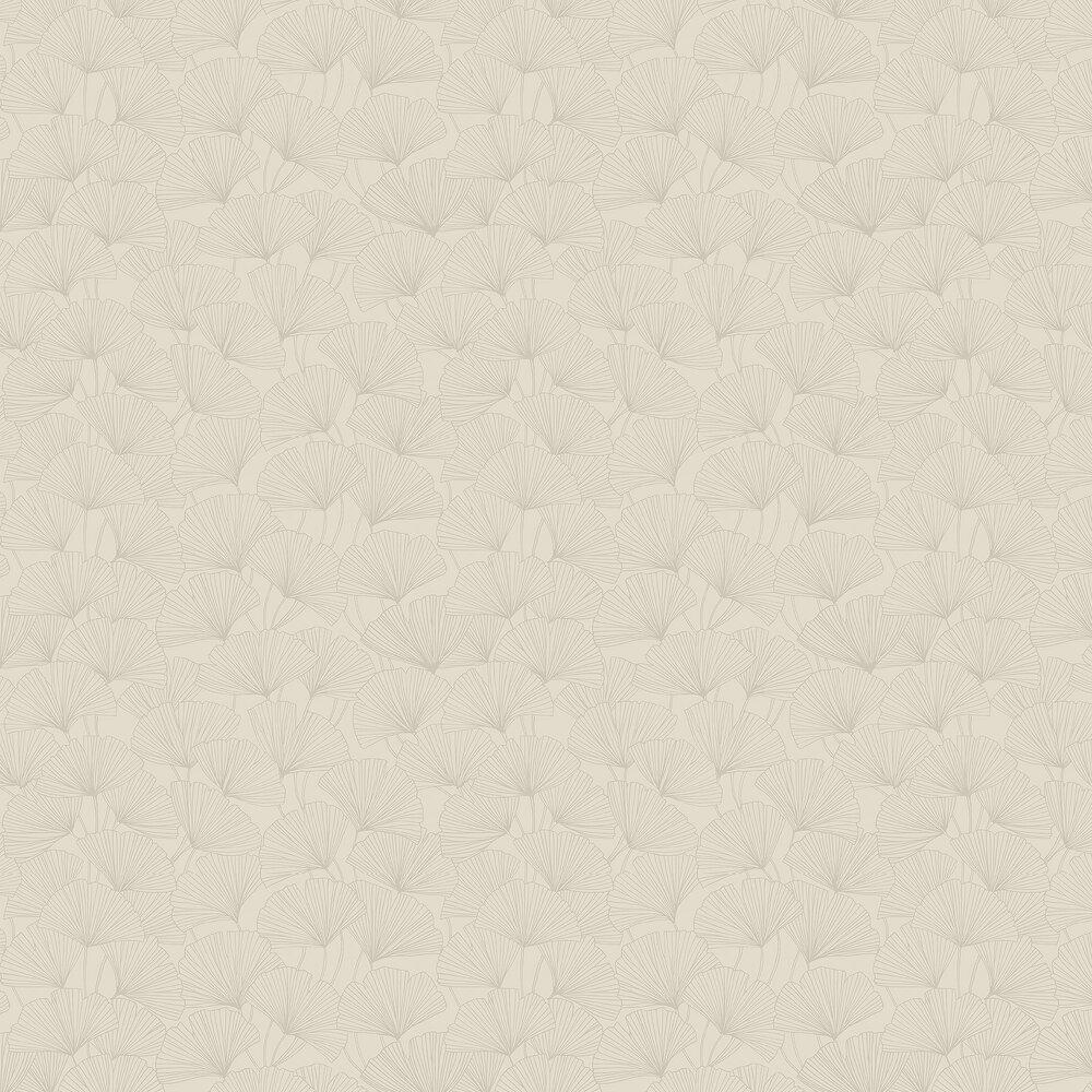 Boråstapeter Ginkgo Beige Wallpaper - Product code: 7267