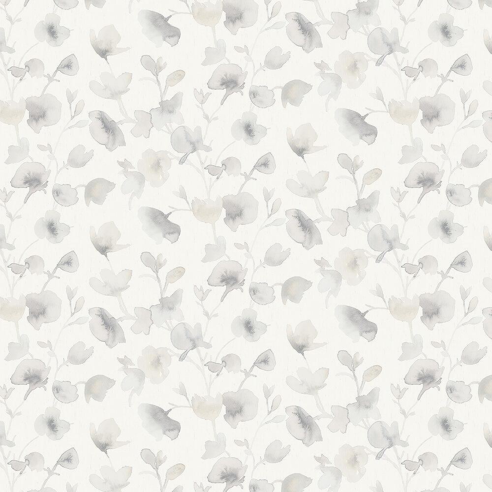 Dawn Wallpaper - Grey - by Boråstapeter