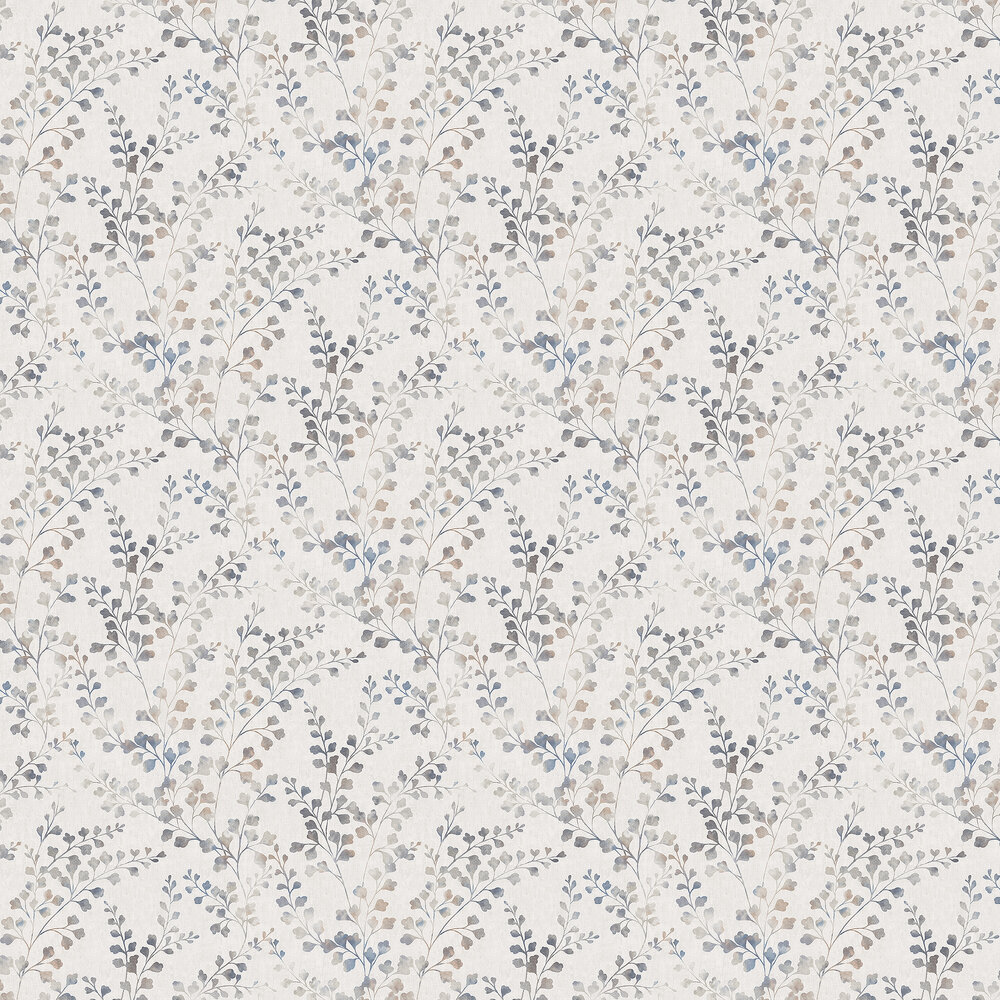 Boråstapeter Leaf Silhouette Brown Wallpaper - Product code: 7288