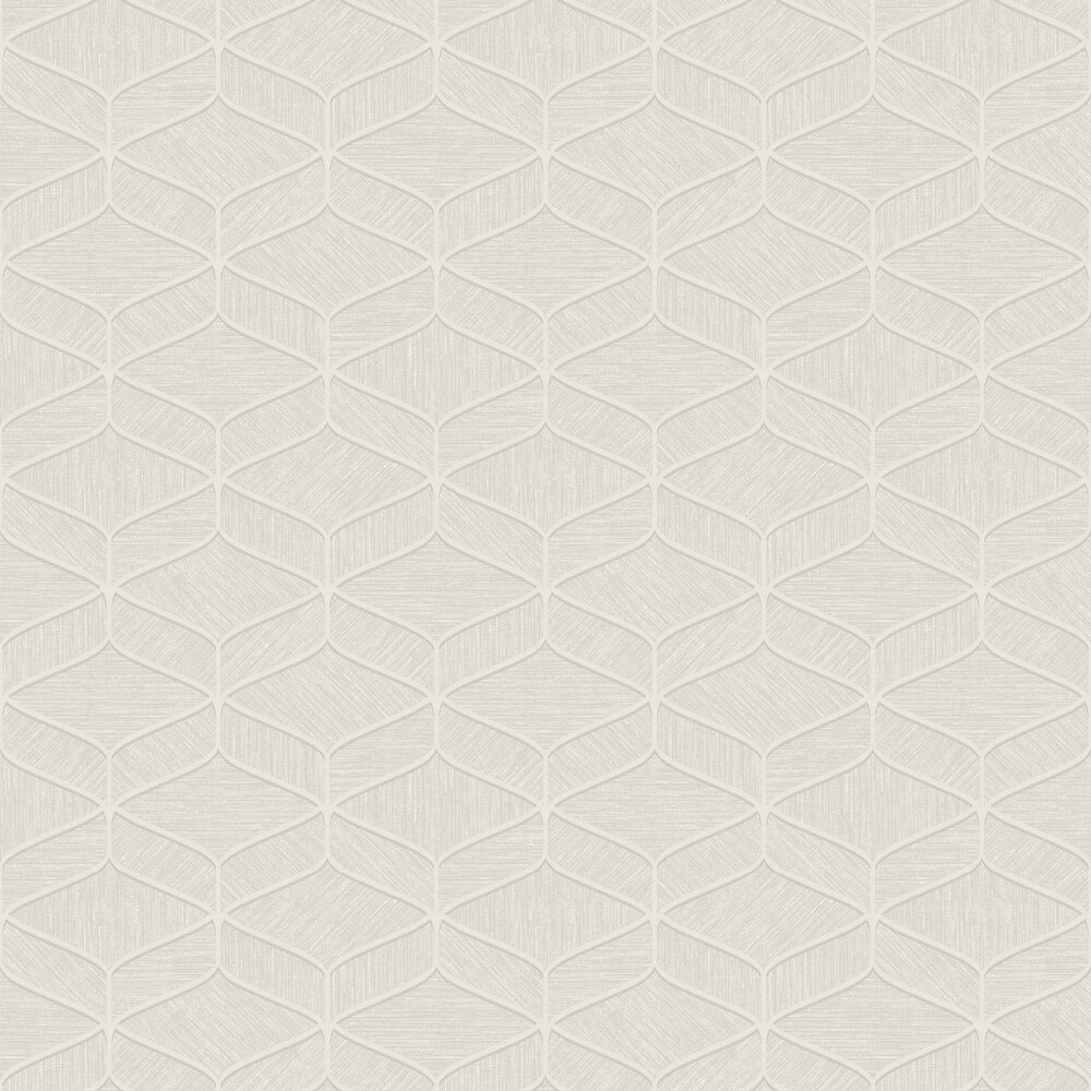 Luciano Geo Wallpaper - Beige - by Albany