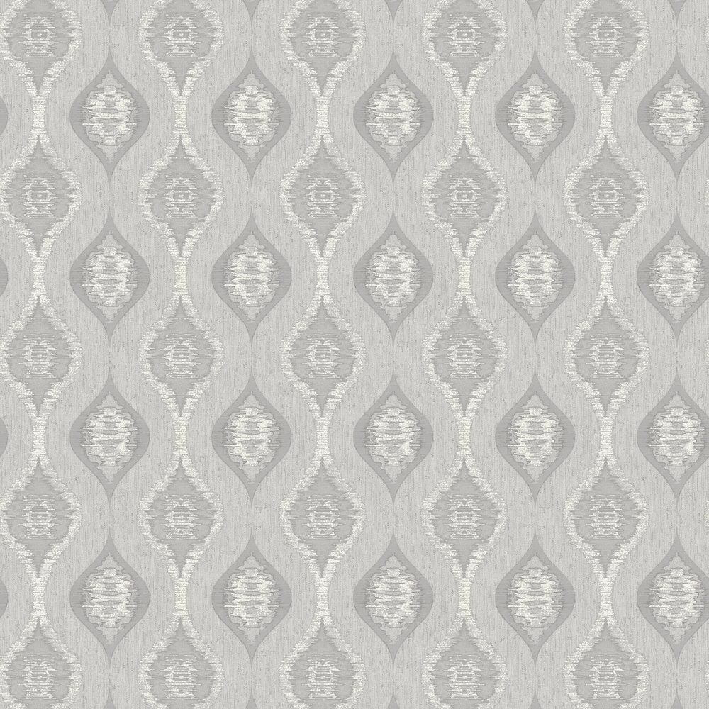 San Marino Wallpaper - Silver - by Albany