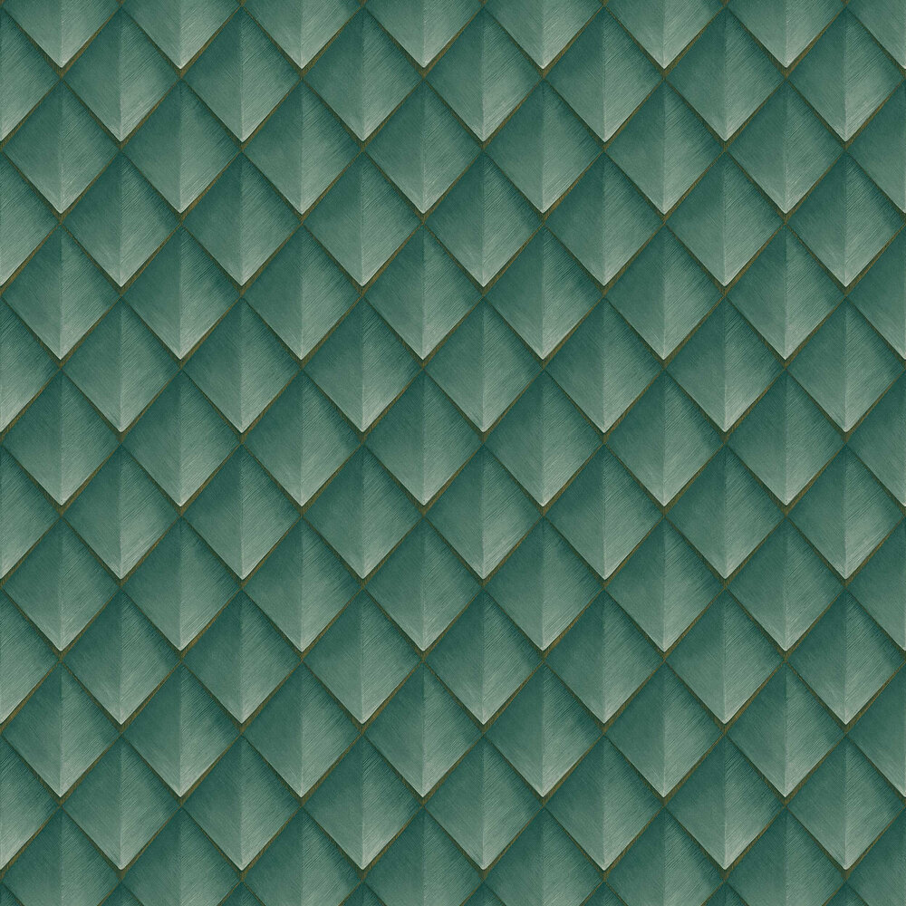 Callisto Wallpaper - Teal - by Albany
