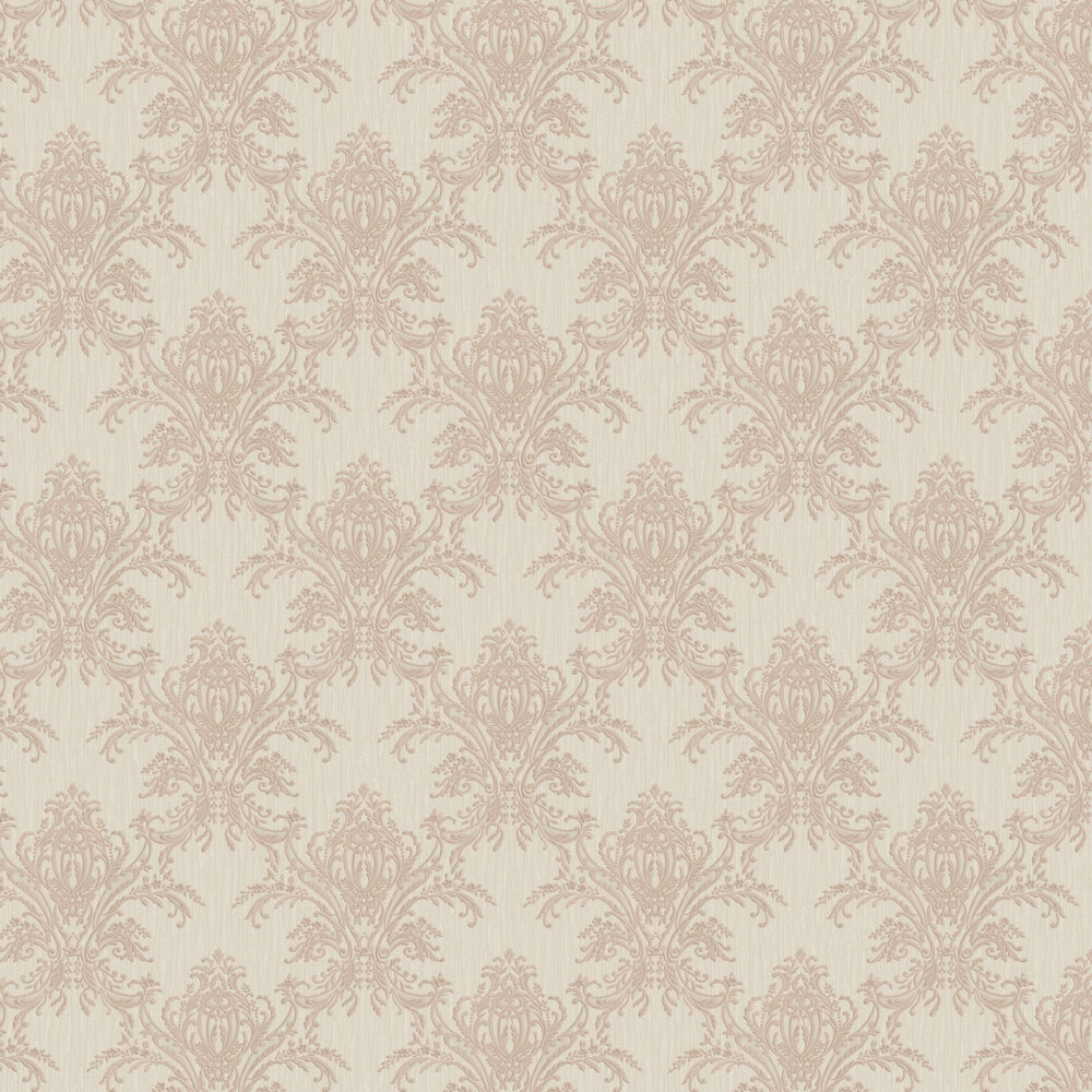Albany Sofia Damask Rose Gold Wallpaper - Product code: 6340