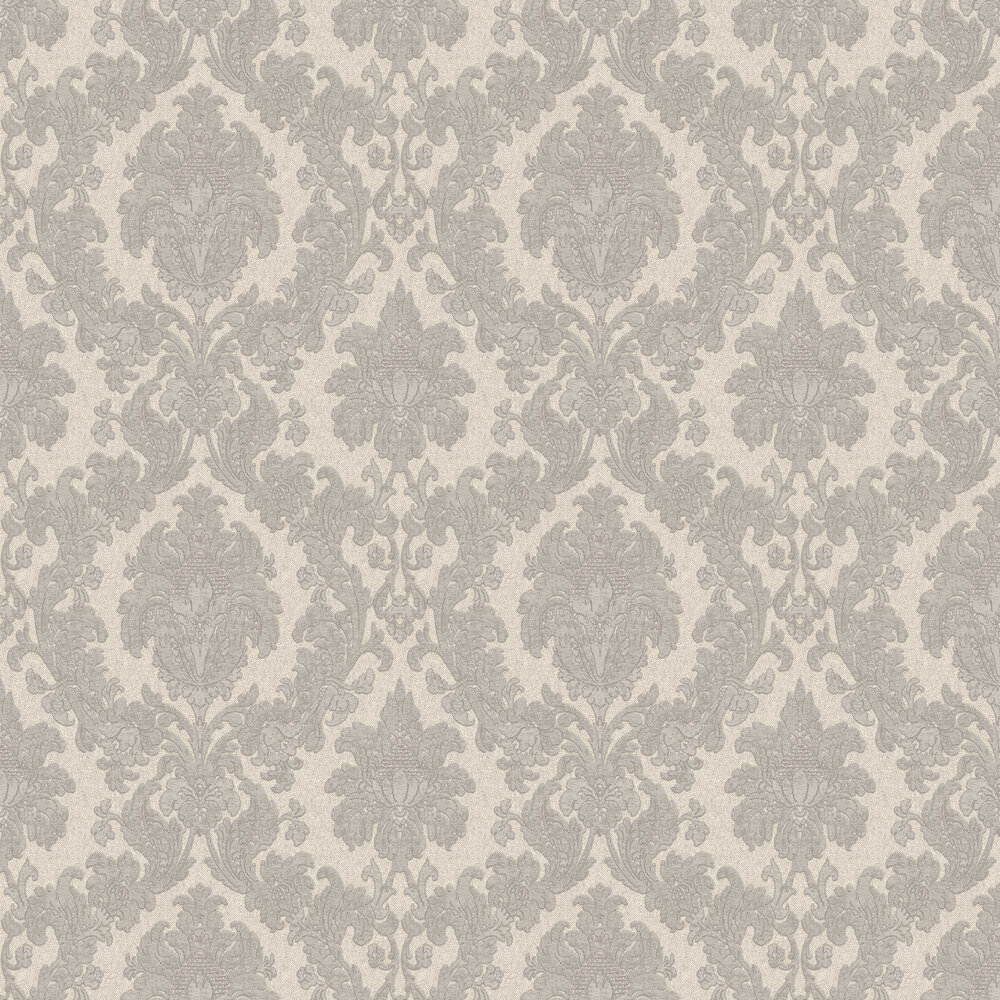 Albany San Remo Damask Smoke Wallpaper - Product code: 6522