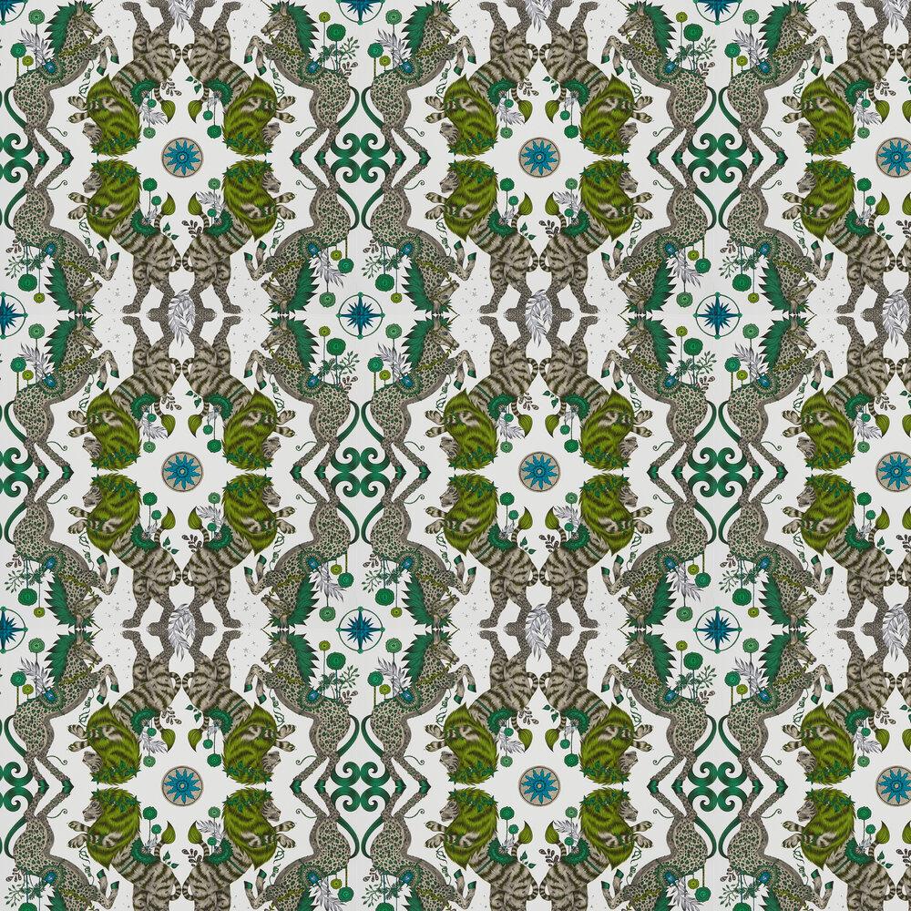 Emma J Shipley Caspian Lime Wallpaper - Product code: W0113/04