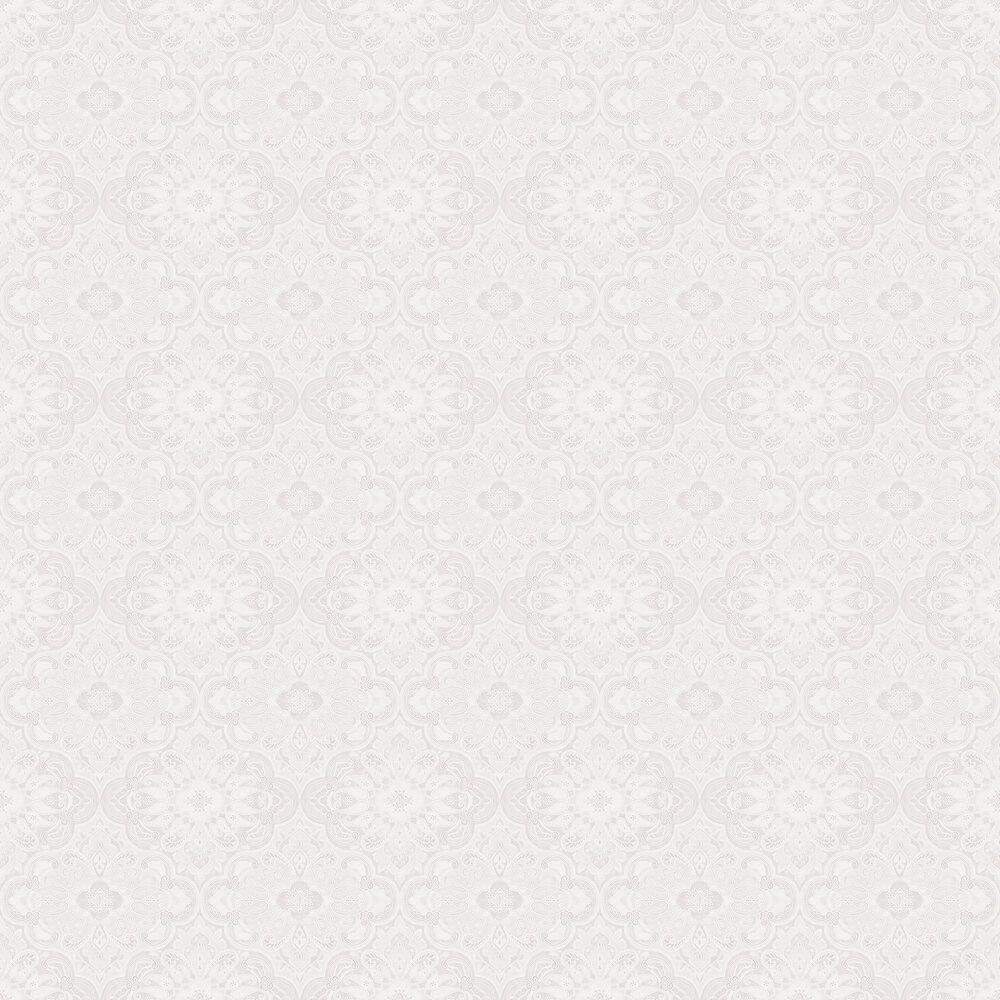 Boråstapeter Rustic Ornament White Wallpaper - Product code: 1165