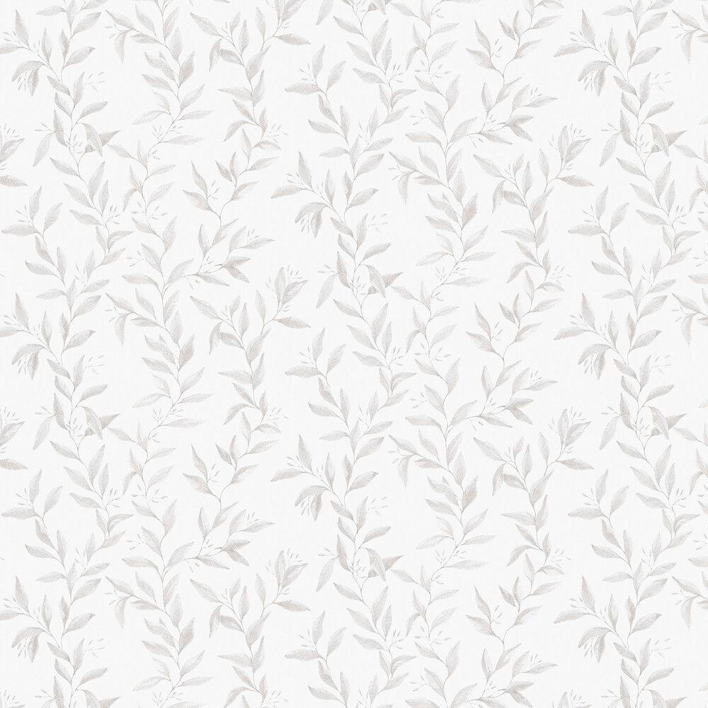 Sense Wallpaper - Grey and White - by Boråstapeter