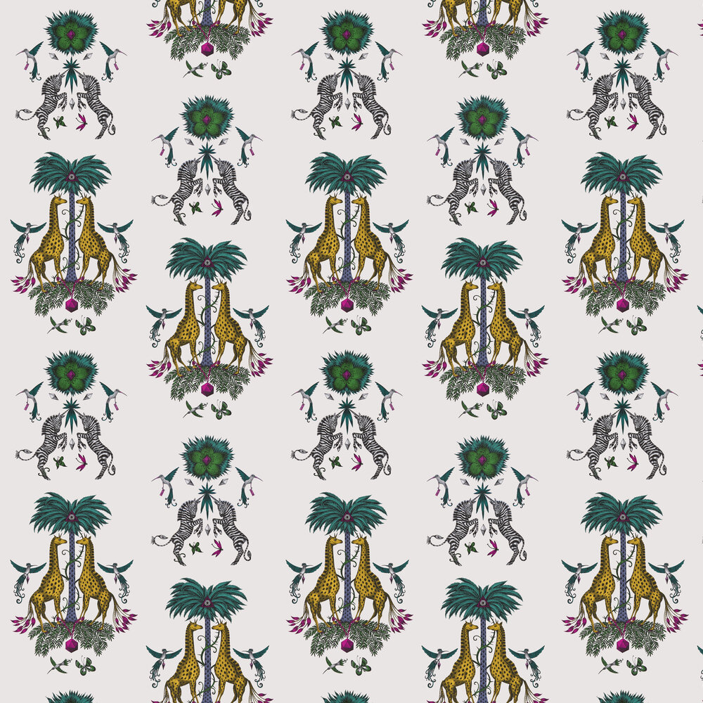 Emma J Shipley Creatura Yellow Wallpaper - Product code: W0114/05
