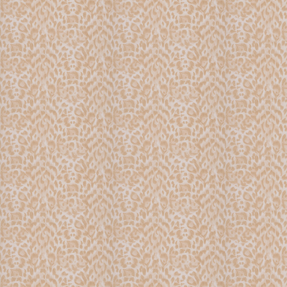 Felis Wallpaper - Blush - by Emma J Shipley