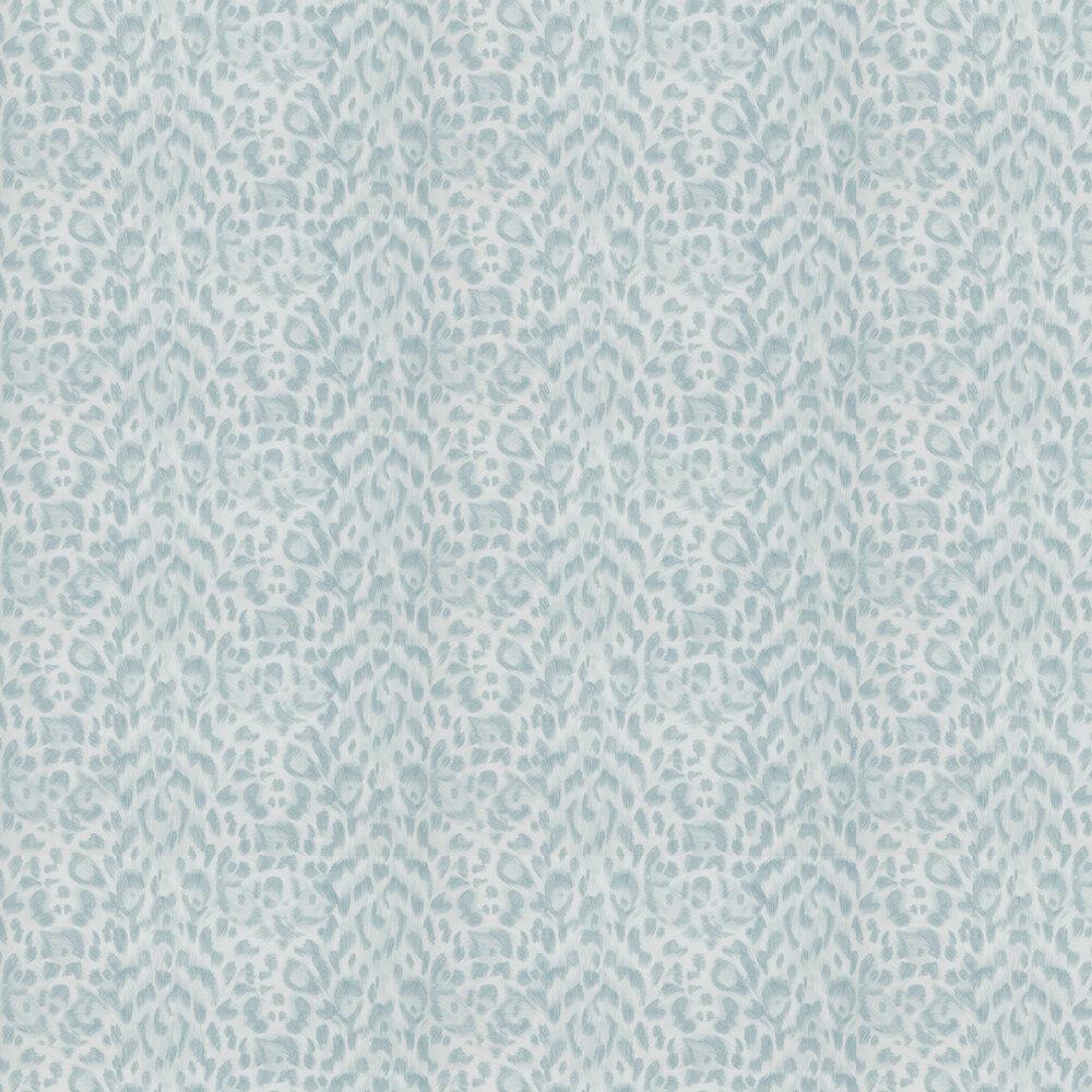 Emma J Shipley Felis Duck egg Wallpaper - Product code: W0115/04