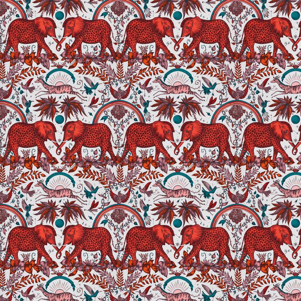 Emma J Shipley Zambesi Flame Wallpaper - Product code: W0121/01