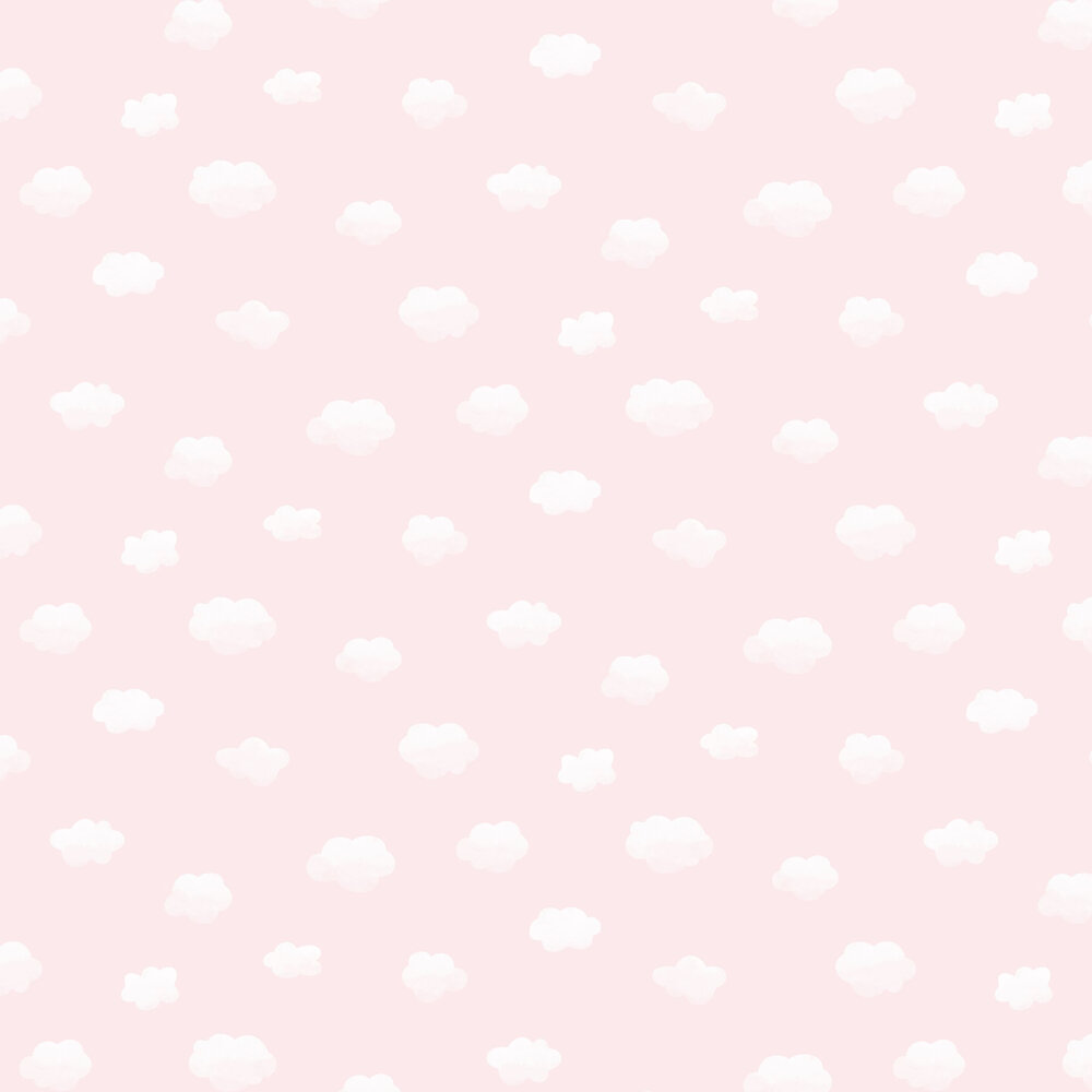 Cloudy Sky Wallpaper - Pink - by Albany