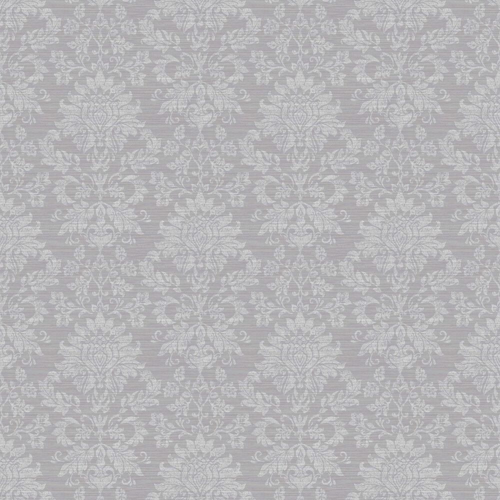 Arthouse Orient Damask Silver Wallpaper - Product code: 298002
