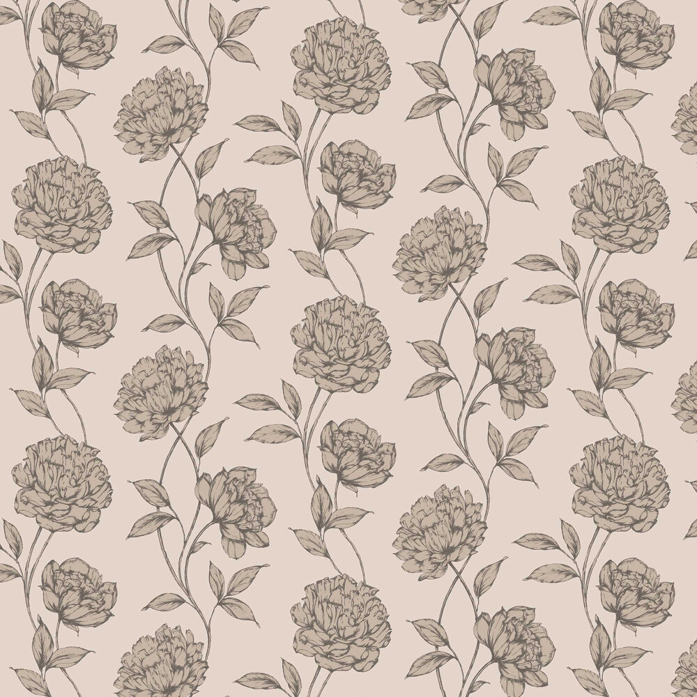 Arthouse Pretty Floral Blush Wallpaper - Product code: 688000