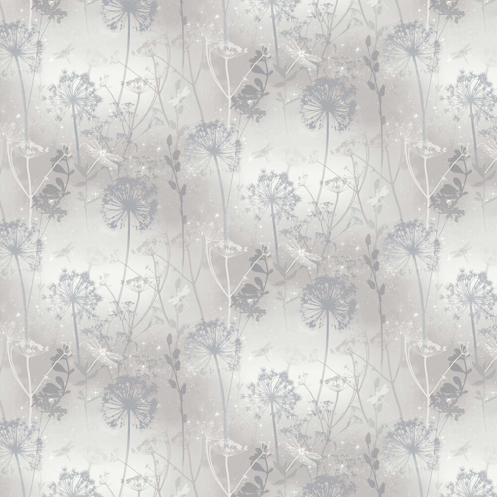 Arthouse Damselfly Grey Wallpaper - Product code: 692406