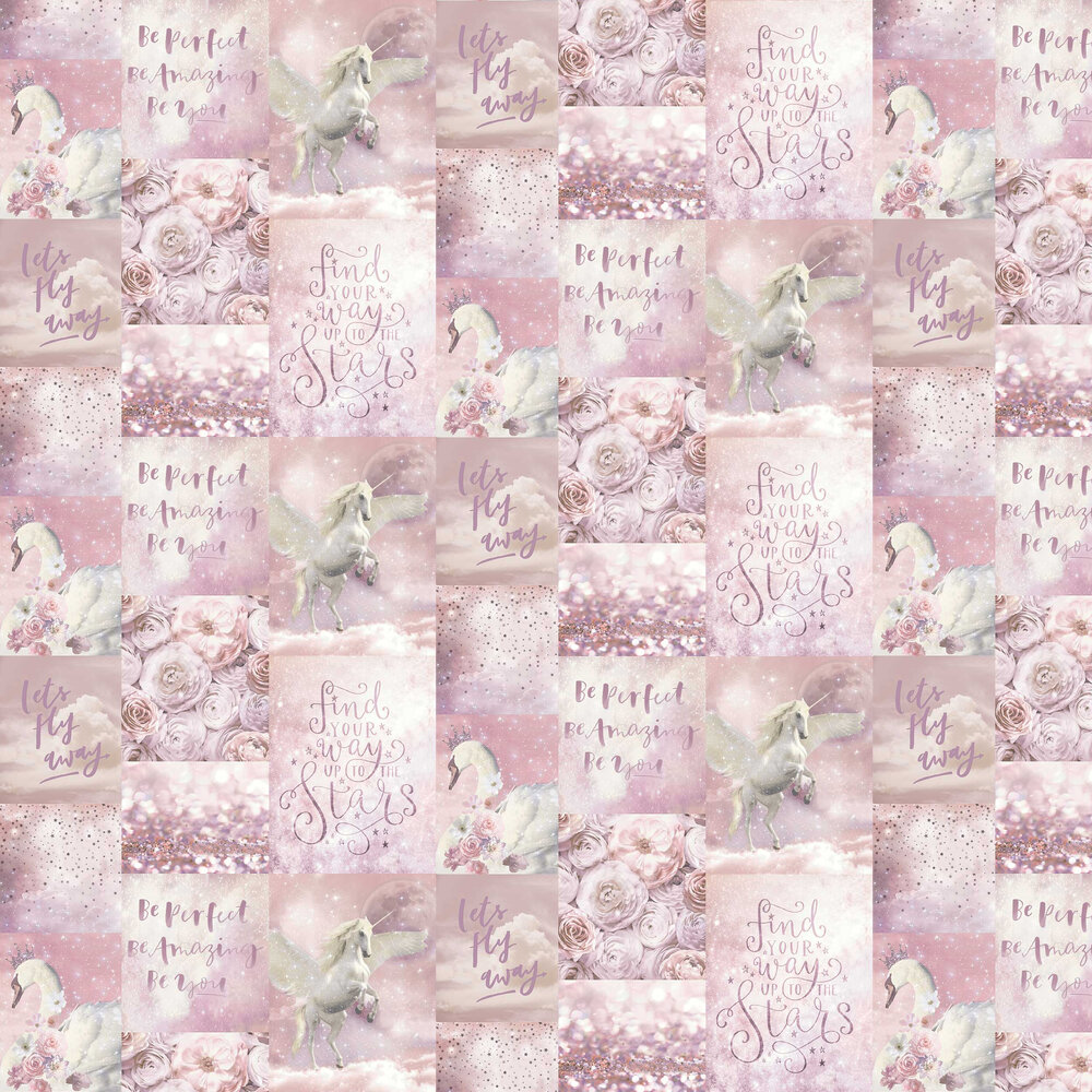 Pandoras Dream Wallpaper - Pink - by Arthouse
