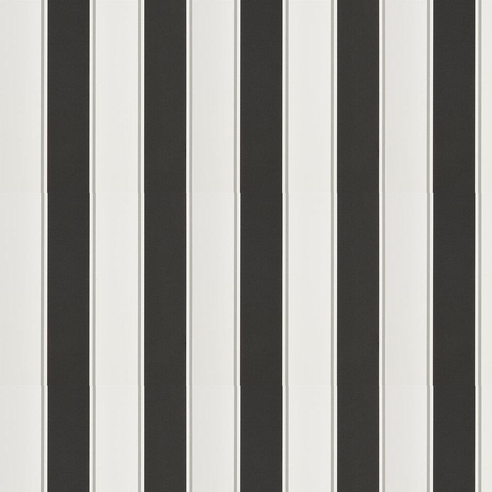 Mapleton Stripe Wallpaper - Carbon - by Ralph Lauren