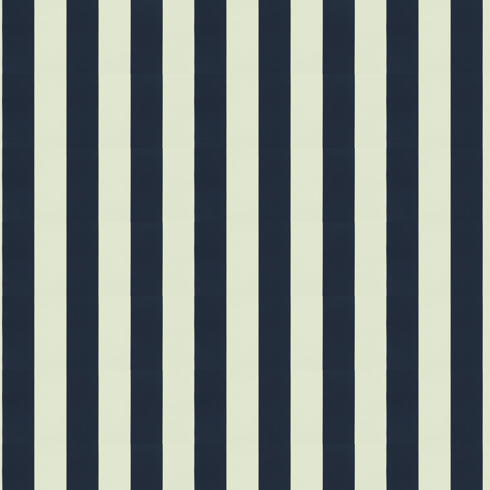 Ralph Lauren Spalding Stripe Navy Wallpaper - Product code: PRL026/01