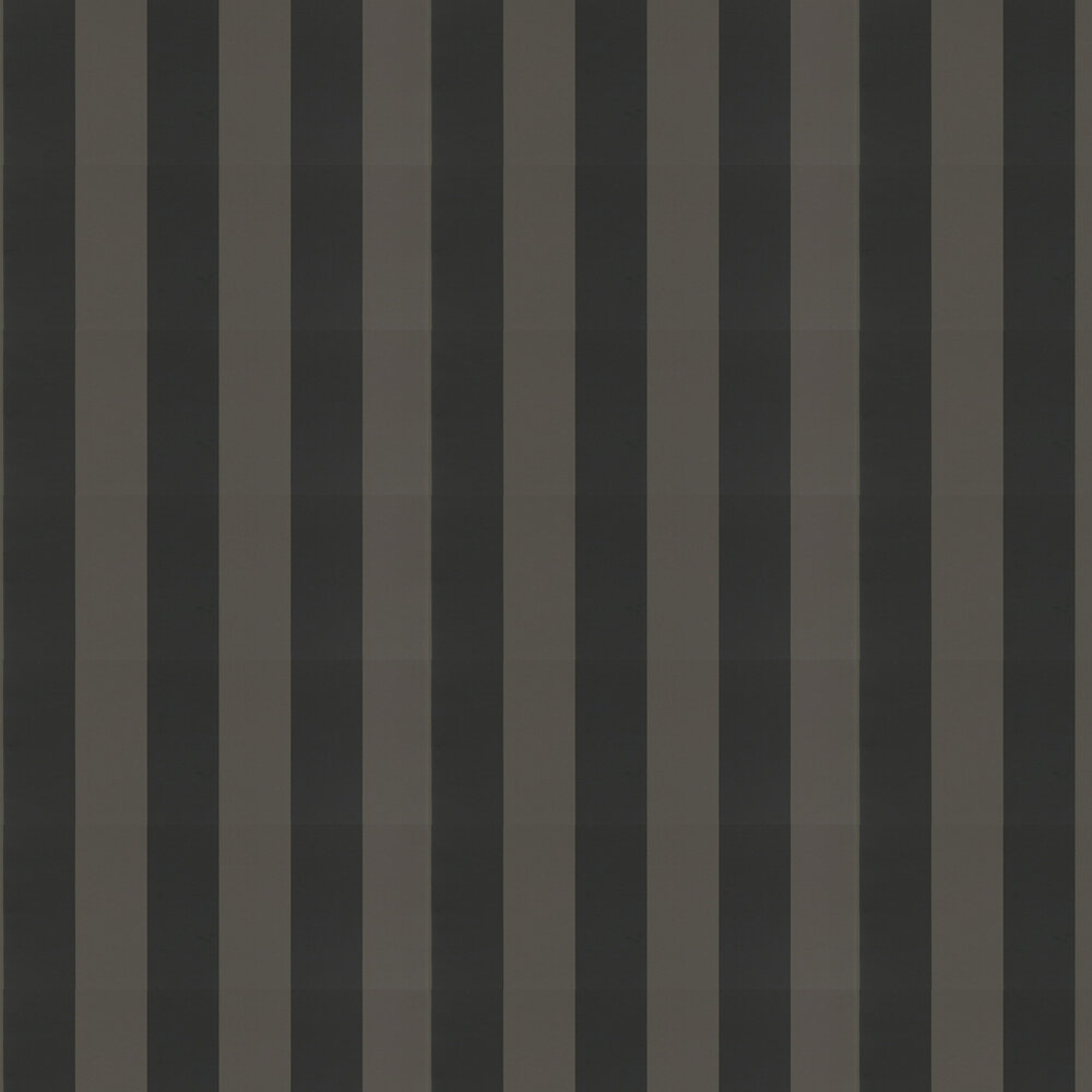 Ralph Lauren Spalding Stripe Black Wallpaper - Product code: PRL026/17