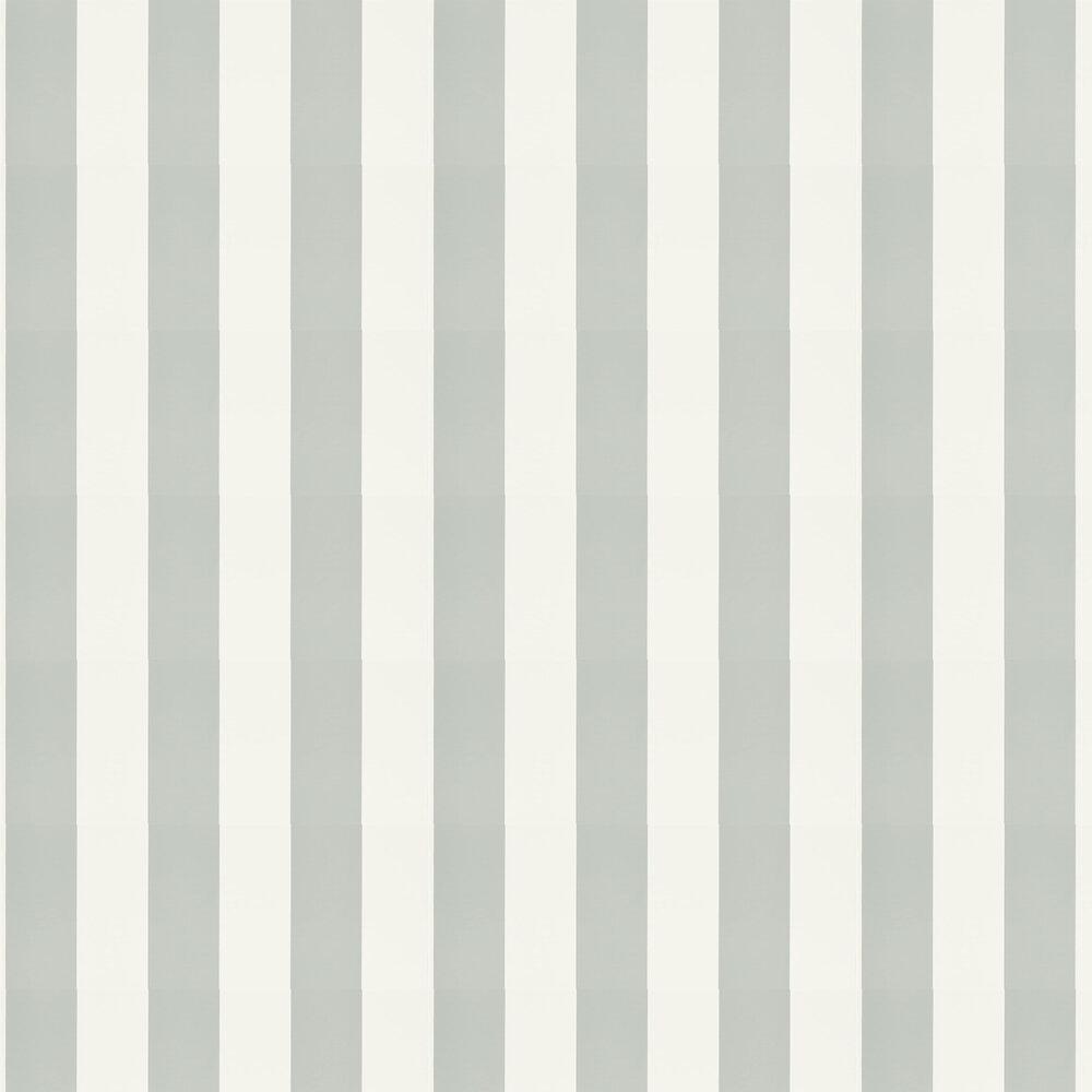 Ralph Lauren Spalding Stripe White and Dove Wallpaper - Product code: PRL026/19