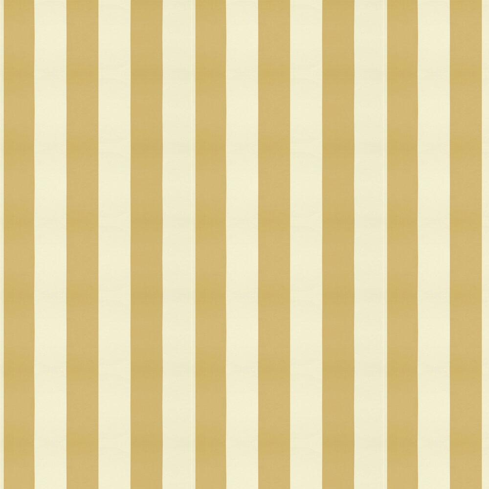 Ralph Lauren Spalding Stripe Ochre Wallpaper - Product code: PRL026/22