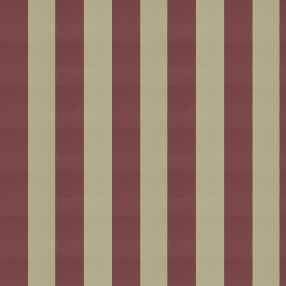 Ralph Lauren Spalding Stripe Rosewood Wallpaper - Product code: PRL026/23