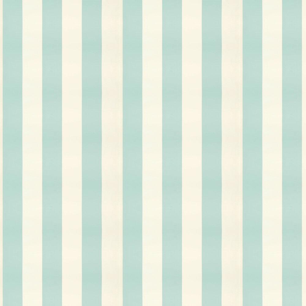 Ralph Lauren Spalding Stripe Duck Egg Blue Wallpaper - Product code: PRL026/24