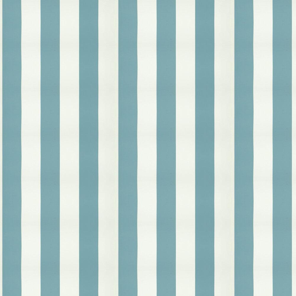 Ralph Lauren Spalding Stripe Slate Blue Wallpaper - Product code: PRL026/25