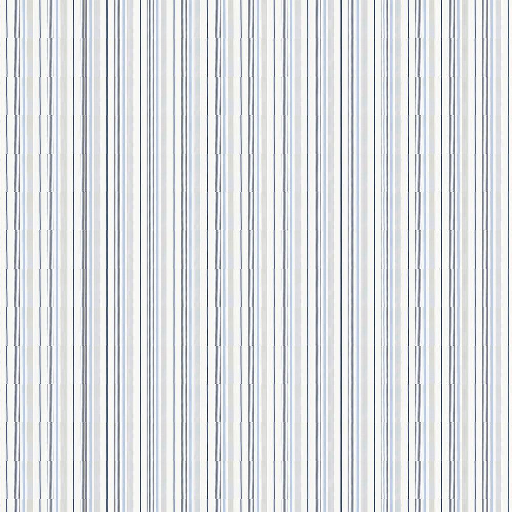 Ralph Lauren Gable Stripe French Blue Wallpaper - Product code: PRL057/01
