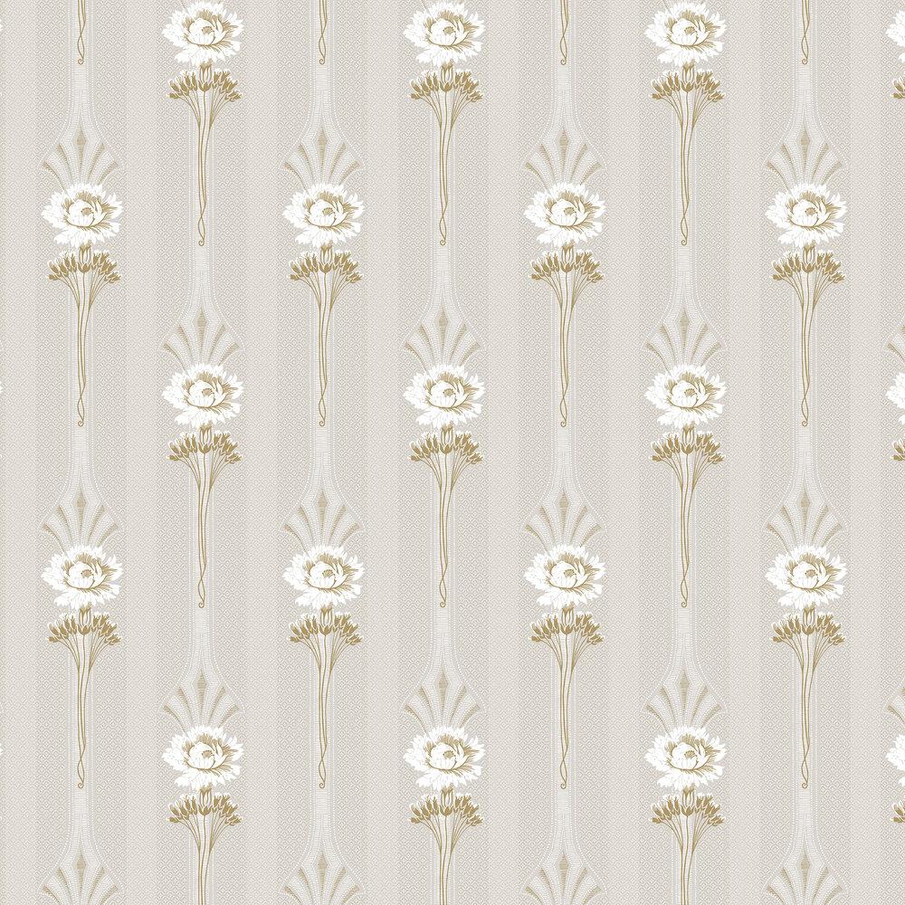 Margareta Wallpaper - Sandstone - by Sandberg