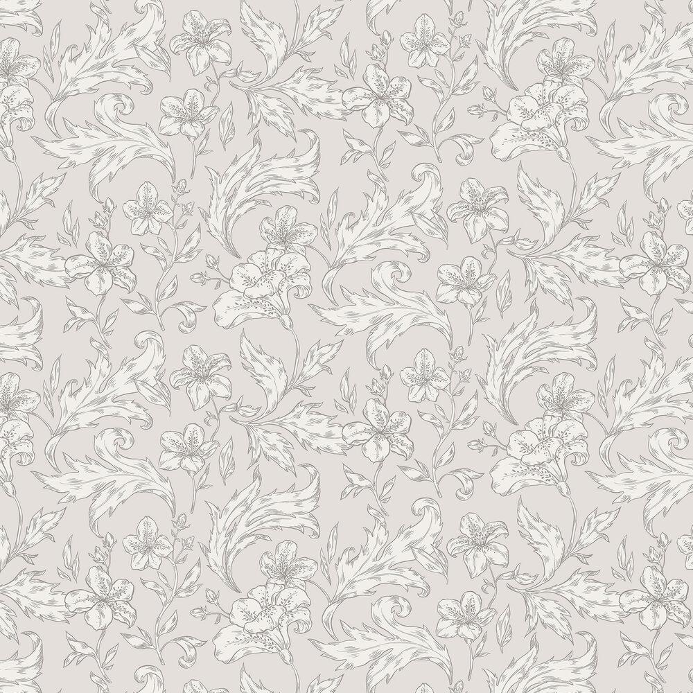 Karin Wallpaper - Wheat - by Sandberg