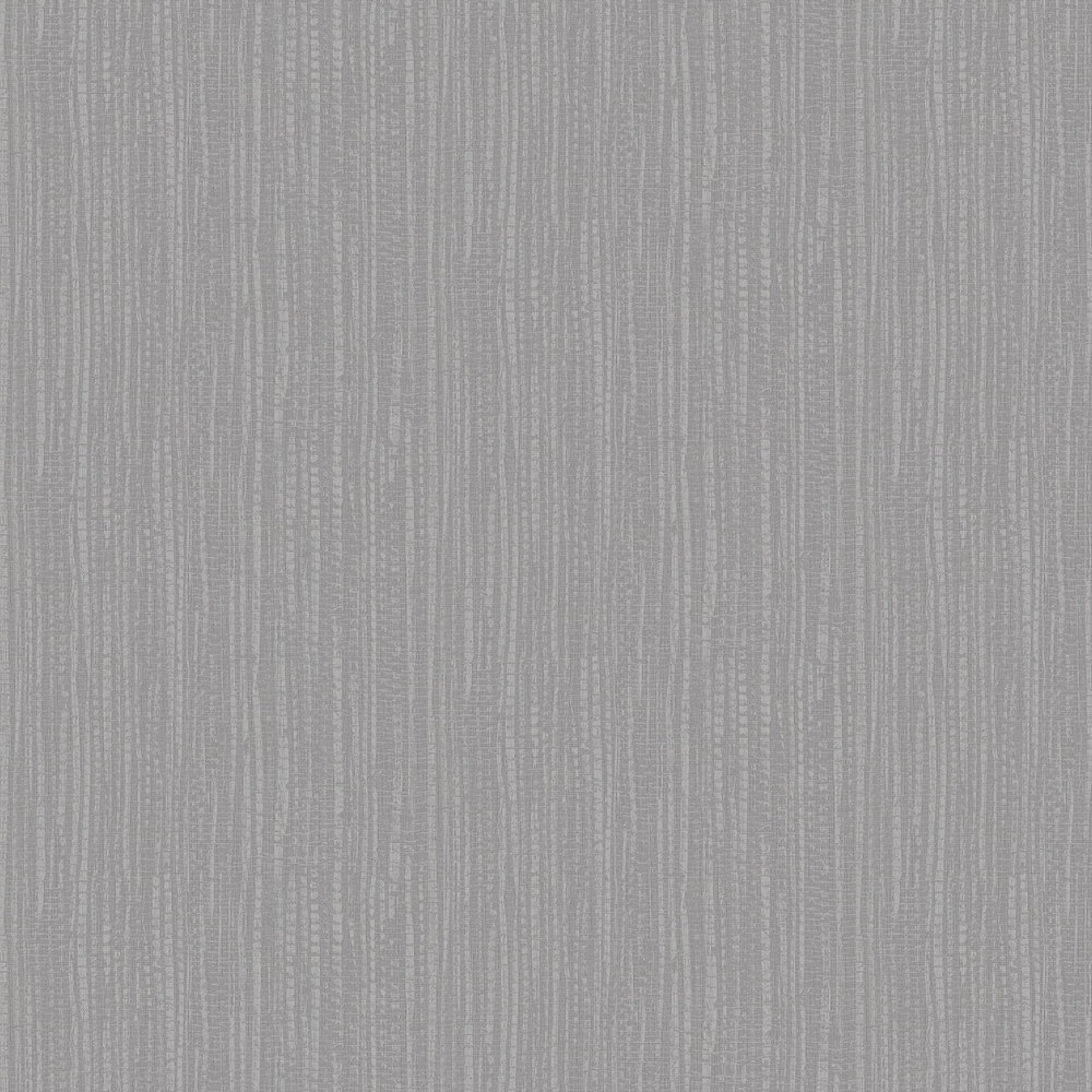 Bamboo Texture Wallpaper - Silver - by Graham & Brown