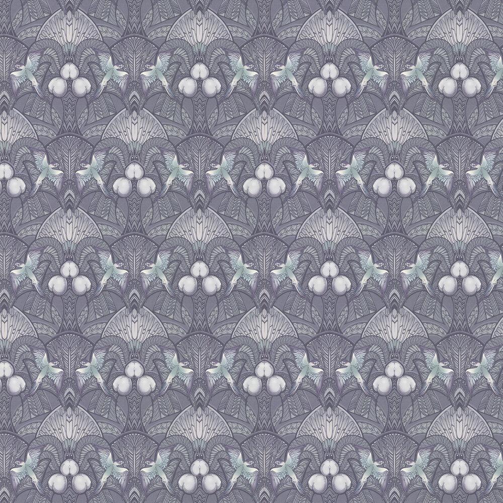 Laurence Llewelyn-Bowen Pleasure Island Metallic Grey Wallpaper - Product code: LLB6041