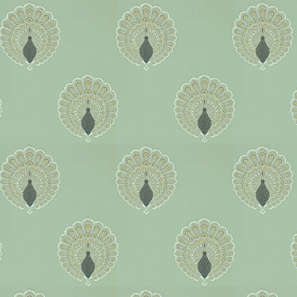 Kalapi Wallpaper - Sea Glass - by Sanderson