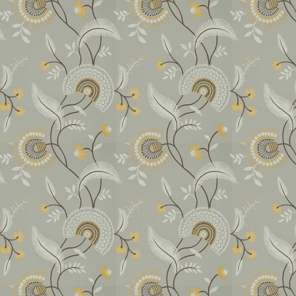 Hakimi Wallpaper - Ash Grey - by Sanderson