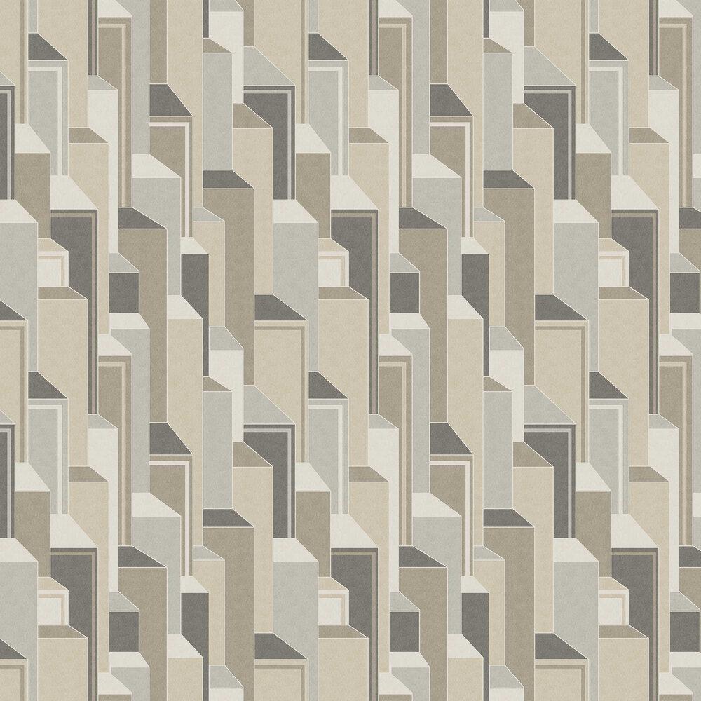 Levels Wallpaper - Inox - by Coordonne