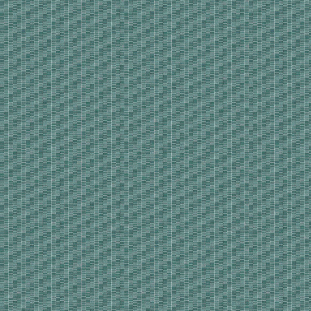 Lineal Wallpaper - Turquoise - by Coordonne