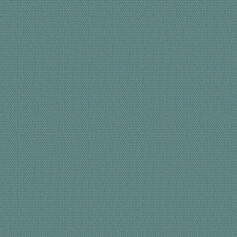 Rational Wallpaper - Turquoise - by Coordonne