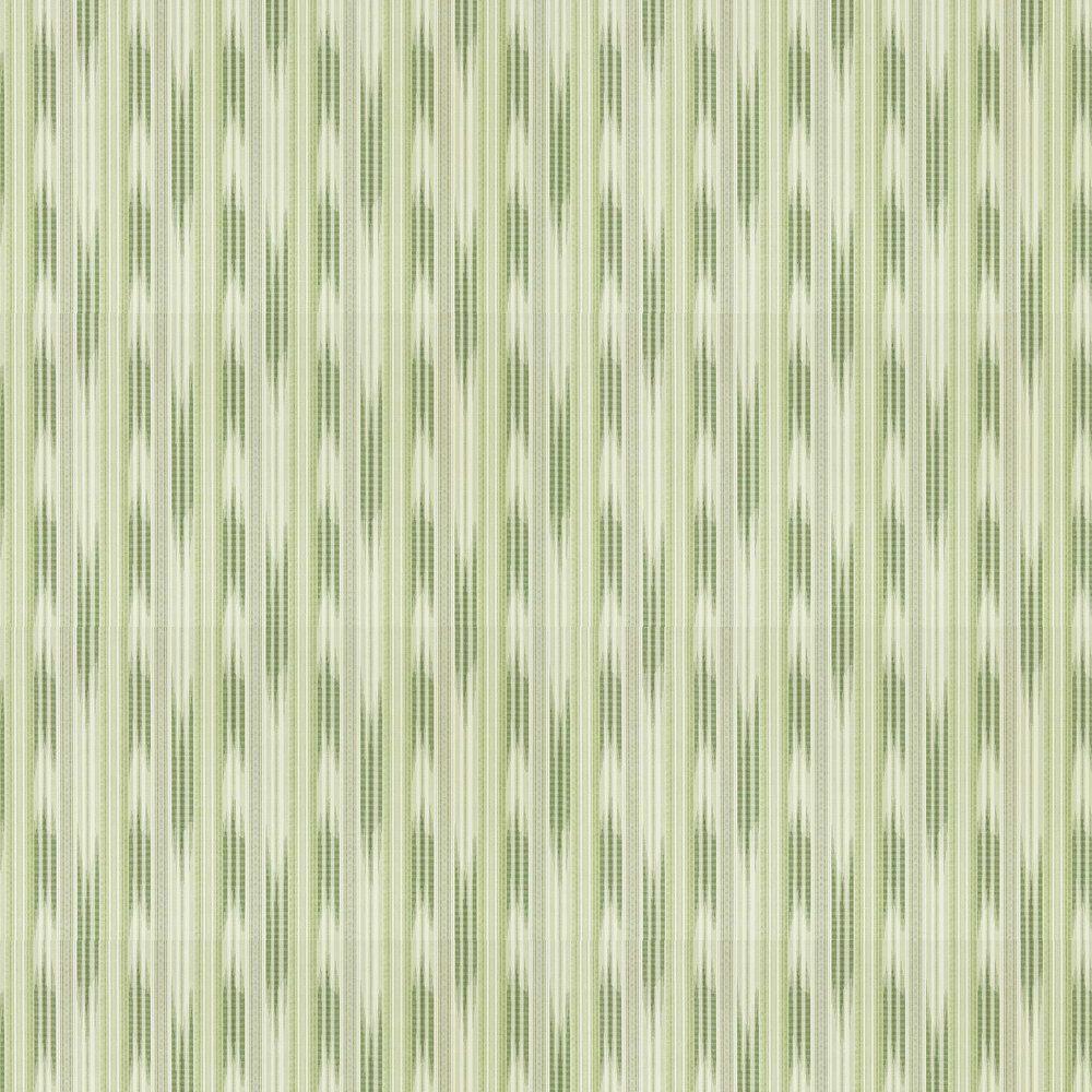 Ishi Wallpaper - Emerald - by Sanderson