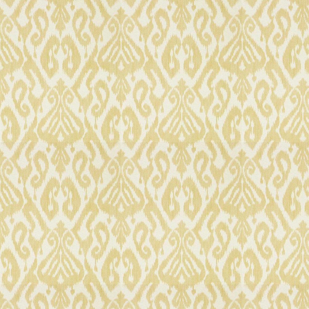 Kasuri Wallpaper - Caraway - by Sanderson