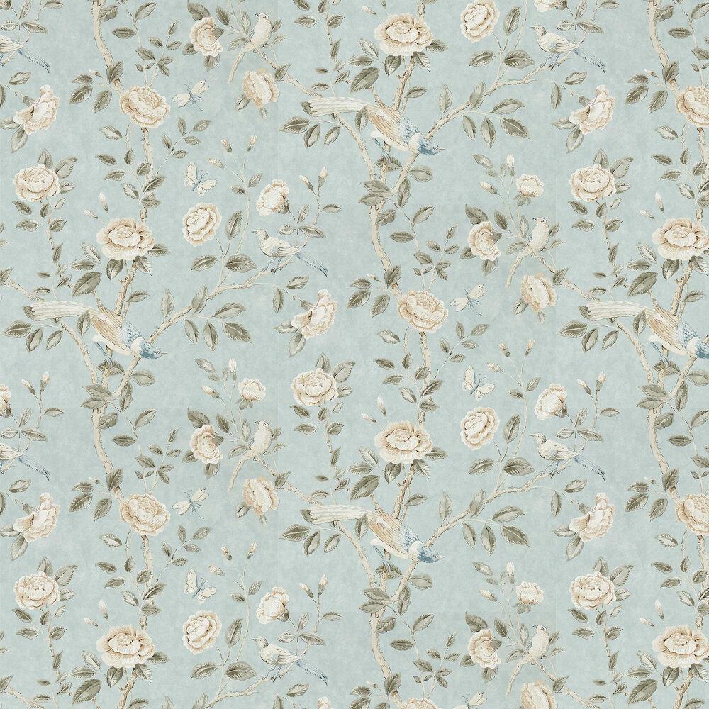Andhara Wallpaper - Dove / Cream - by Sanderson