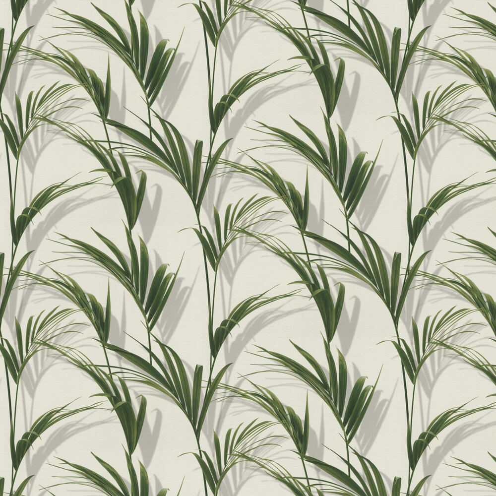 Palm Wallpaper - Green - by Albany
