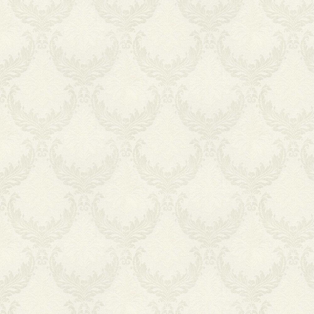 Richmond Damask Wallpaper - Ivory - by Elite Wallpapers