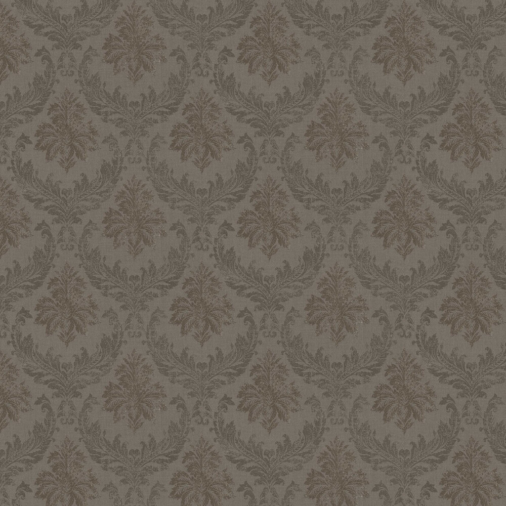 Elite Wallpapers Richmond Damask Chocolate Wallpaper - Product code: 085500