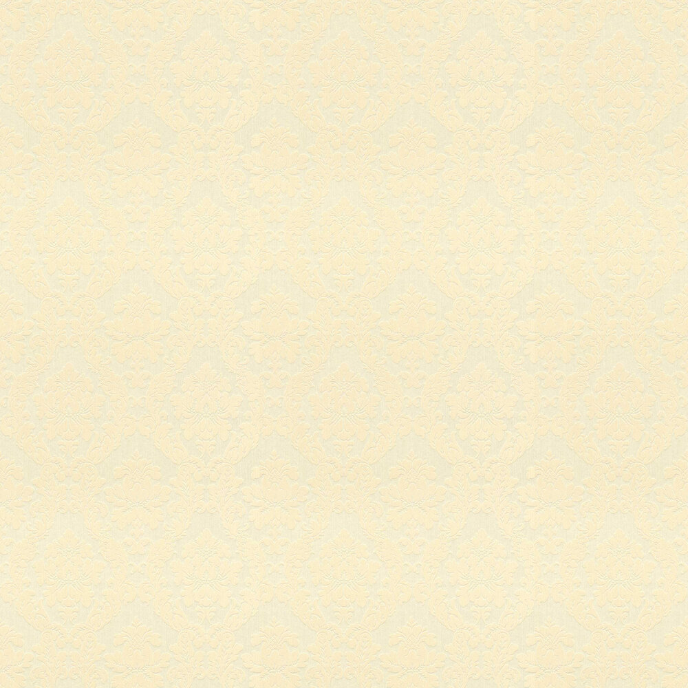 Elite Wallpapers Chelsea Damask Cool Yellow Wallpaper - Product code: 085791
