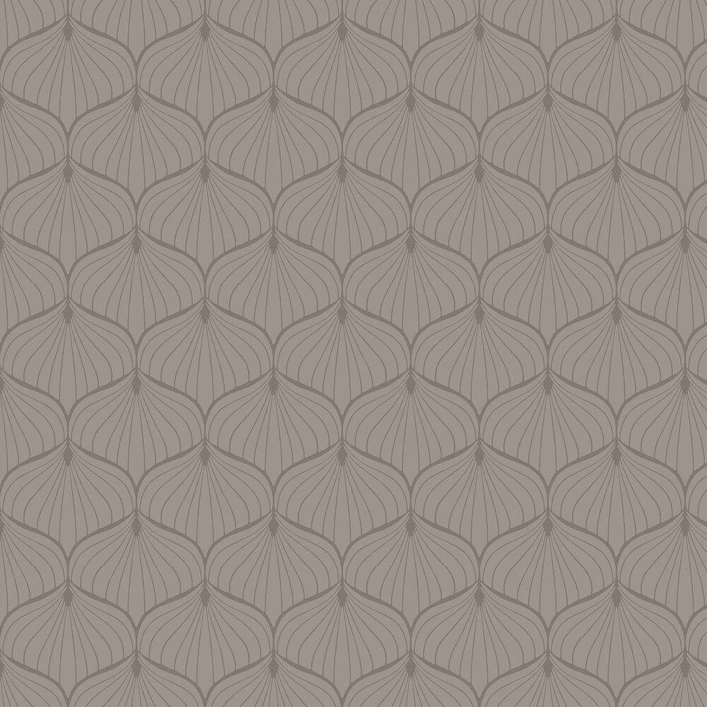 Aya Wallpaper - Brown - by Fardis