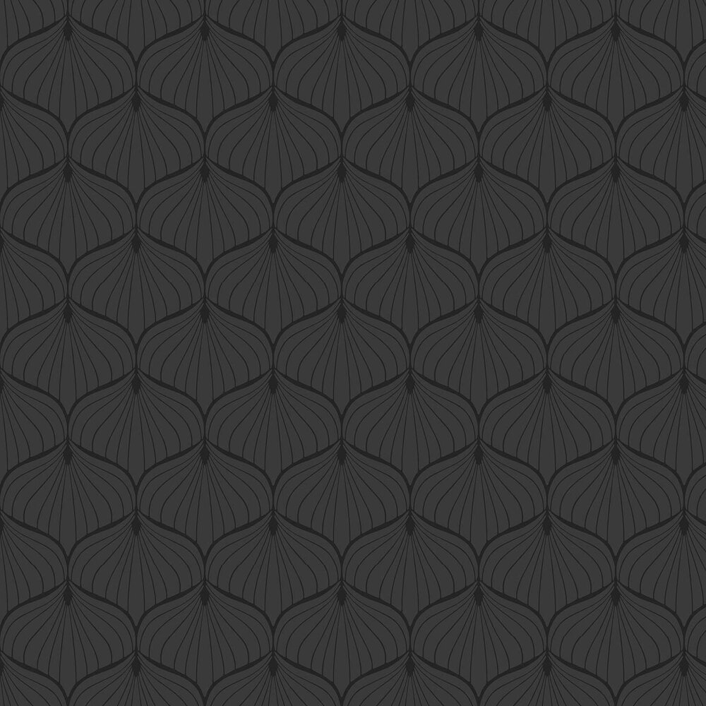 Aya Wallpaper - Black - by Fardis