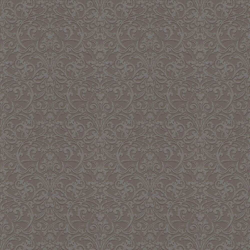 Da Capo Trellis Wallpaper - Chocolate - by Elite Wallpapers
