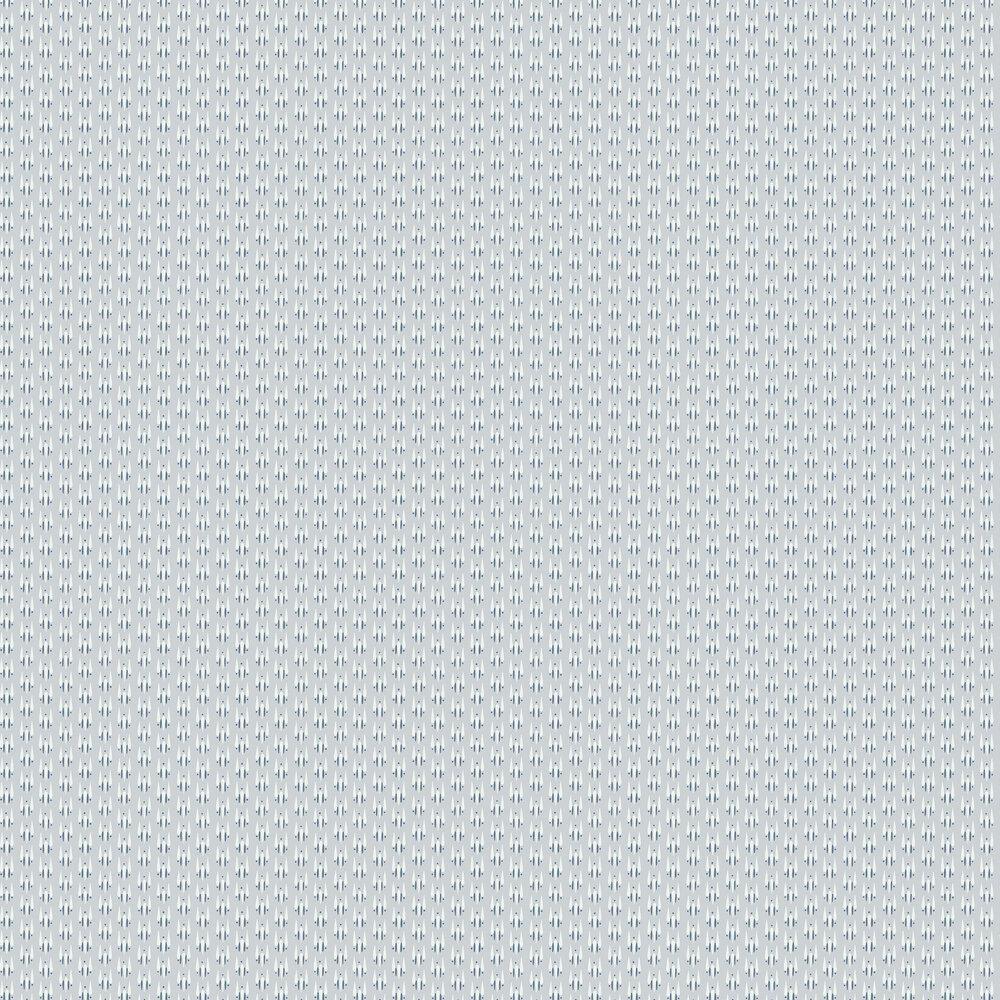 Strand Teardrop Wallpaper - Light Grey / Blue / Off-white - by Hamilton Weston Wallpapers