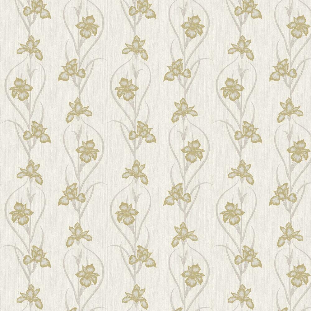 Akiko Wallpaper - Cream - by Fardis